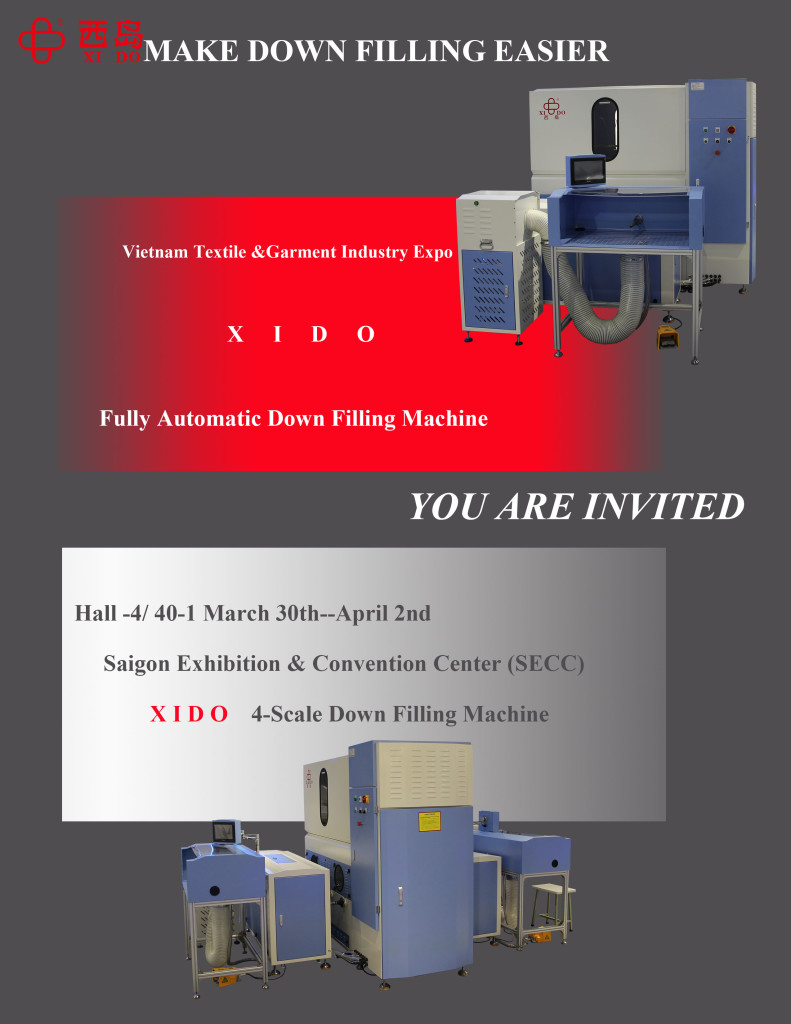 Down & Feather Filling Machine
